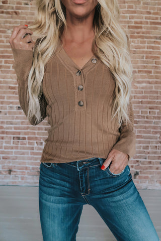 Essential Layering Ribbed Knit Top