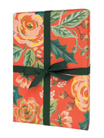 Rifle Paper Co. Jardin Noël Wrapping Sheets