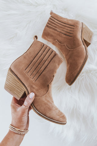 Western Pointed Bootie