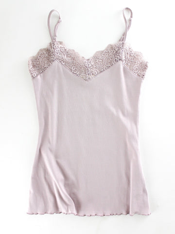 Mauve Cotton Cami