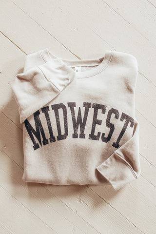 Midwest graphic sweatshirt.