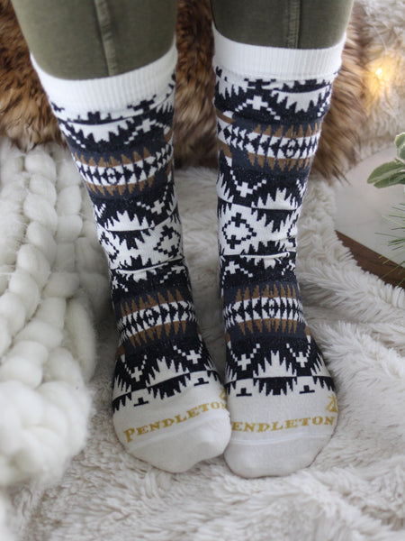 Pendleton Spider Rock Crew Socks
