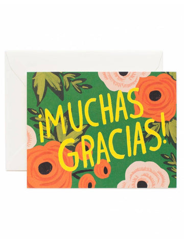 Rifle Paper Co. ¡Muchas Gracias! Greeting Card