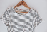 Easy Striped Knit Top