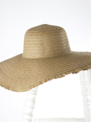Textured Beach Hat