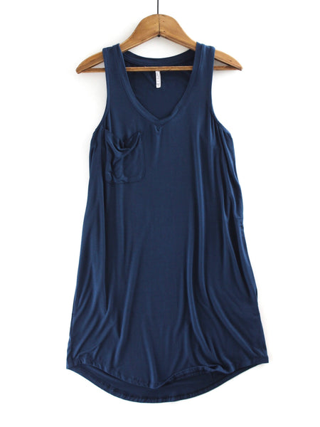 The Pocket Racer Tank Dress