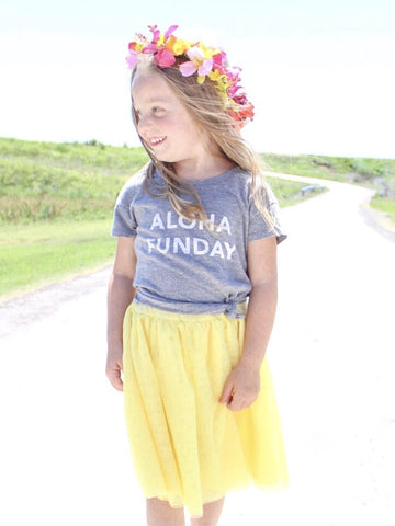 Aloha Funday Vintage Kid's Tee