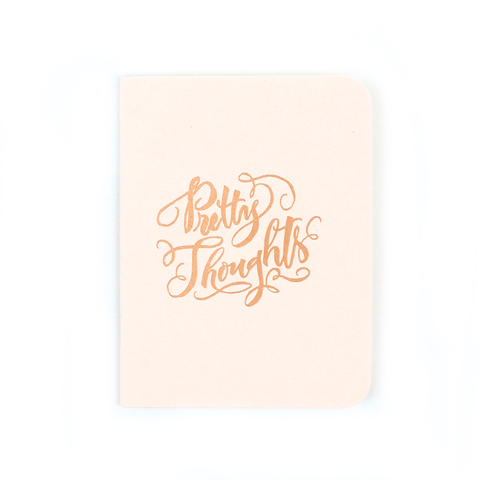 Antiquaria - Pretty Thoughts Pocket Notebook