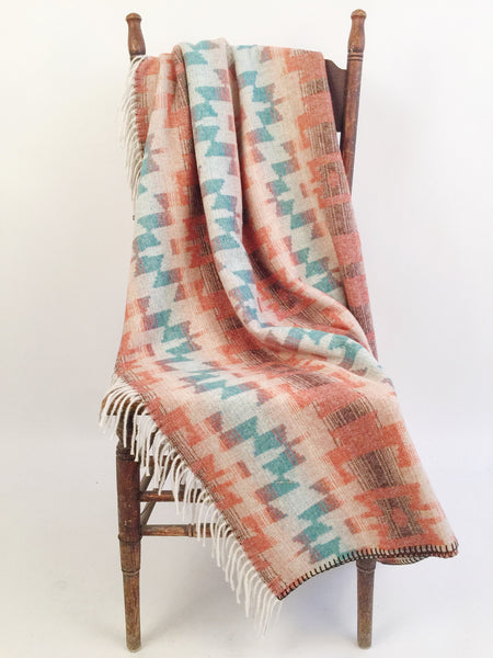 Harvest Sky Fringe Throw