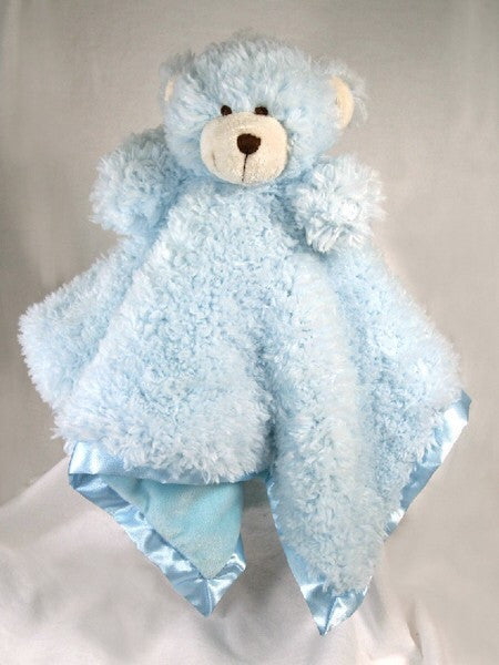 Cuddle Bud Blankie Bear - BLUE