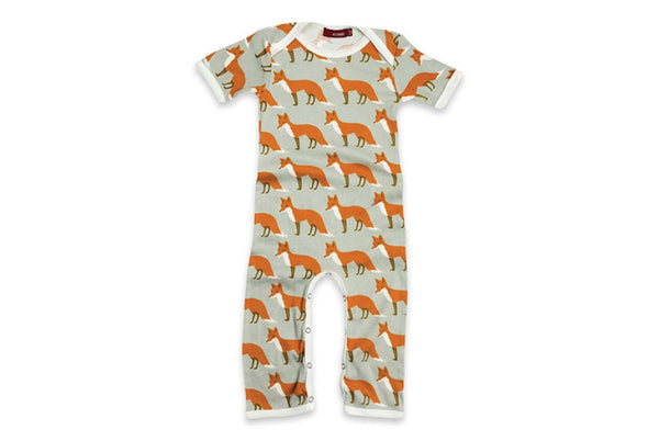 Milkbarn Romper ORANGE FOX