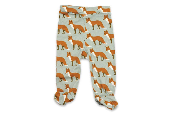 Milkbarn Footie Pant ORANGE FOX