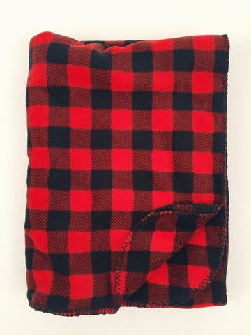 Rockmount Buffalo Check Fleece Blanket