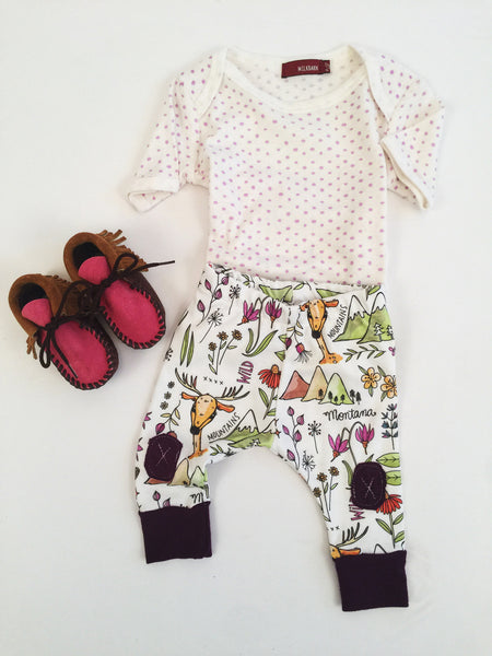 Montana Wildflower Baby Pants