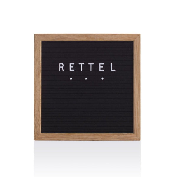 Rettel Felt Letter Boards