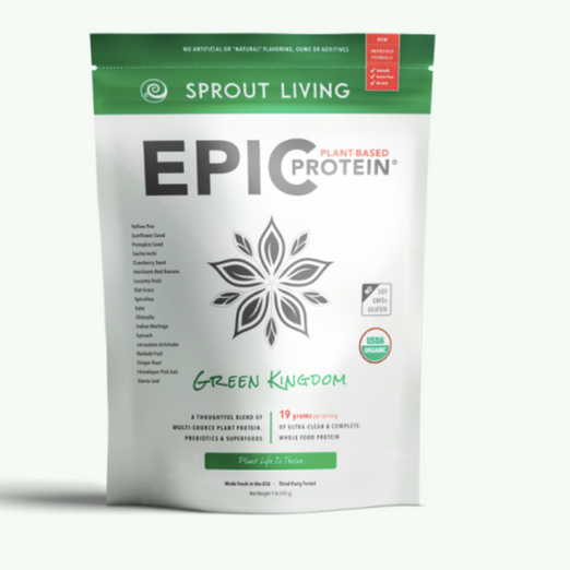EPIC Additions: Sprout Living's Green Kingdom Protein Powder