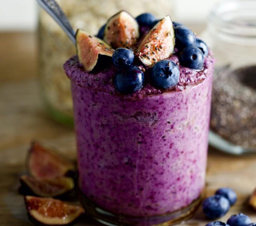 Recipe / Blueberry Overnight Oats