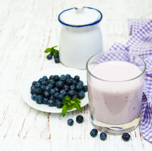 Recipe Of The Week / Blueberry Almond Milk