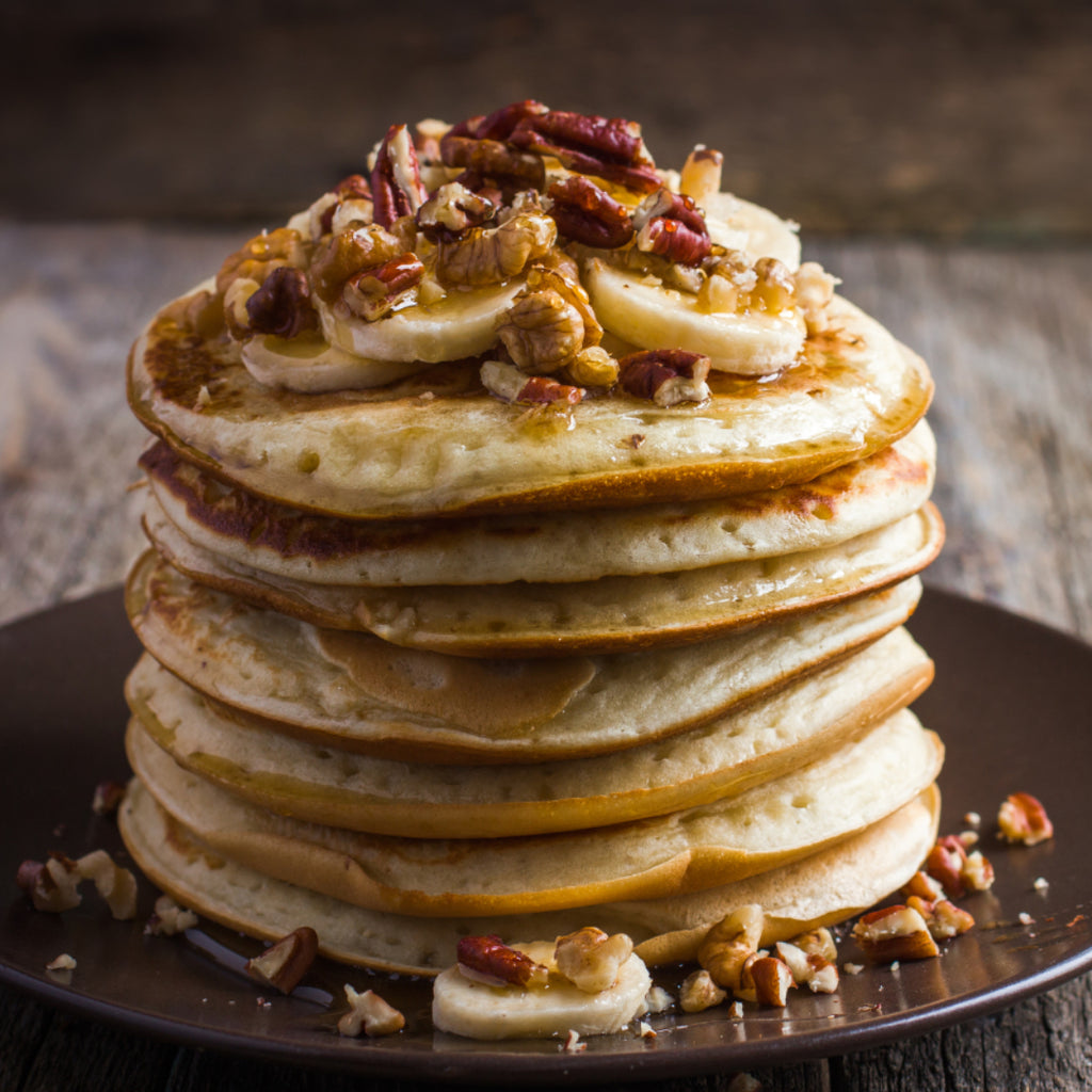 Recipe / Gluten-Free Apple & Cinnamon Pancakes