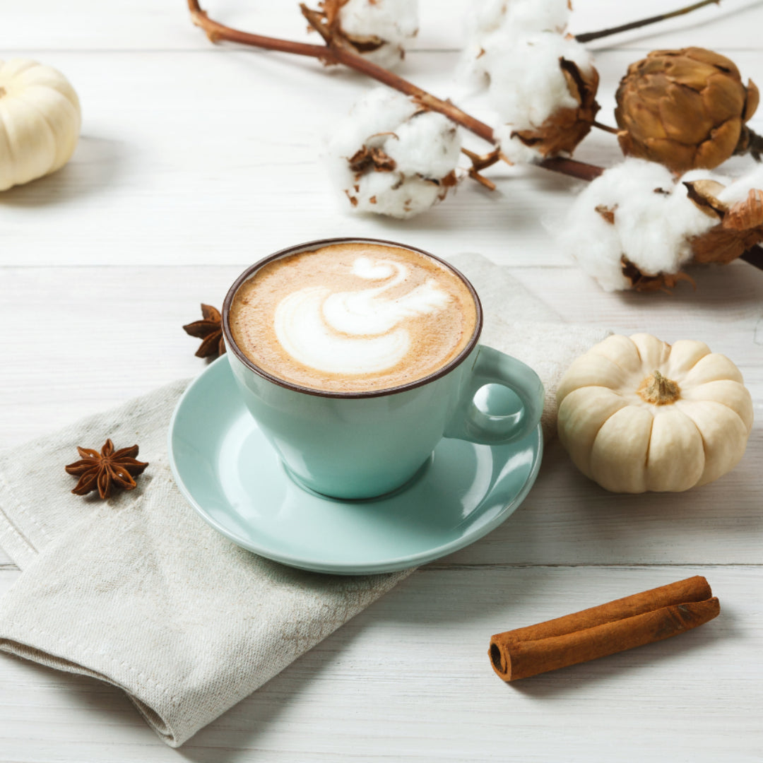 Recipe / Spiced Pumpkin Mylk Latte