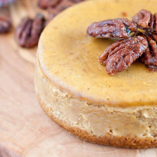 Recipe / Pumpkin Spiced Cheesecake