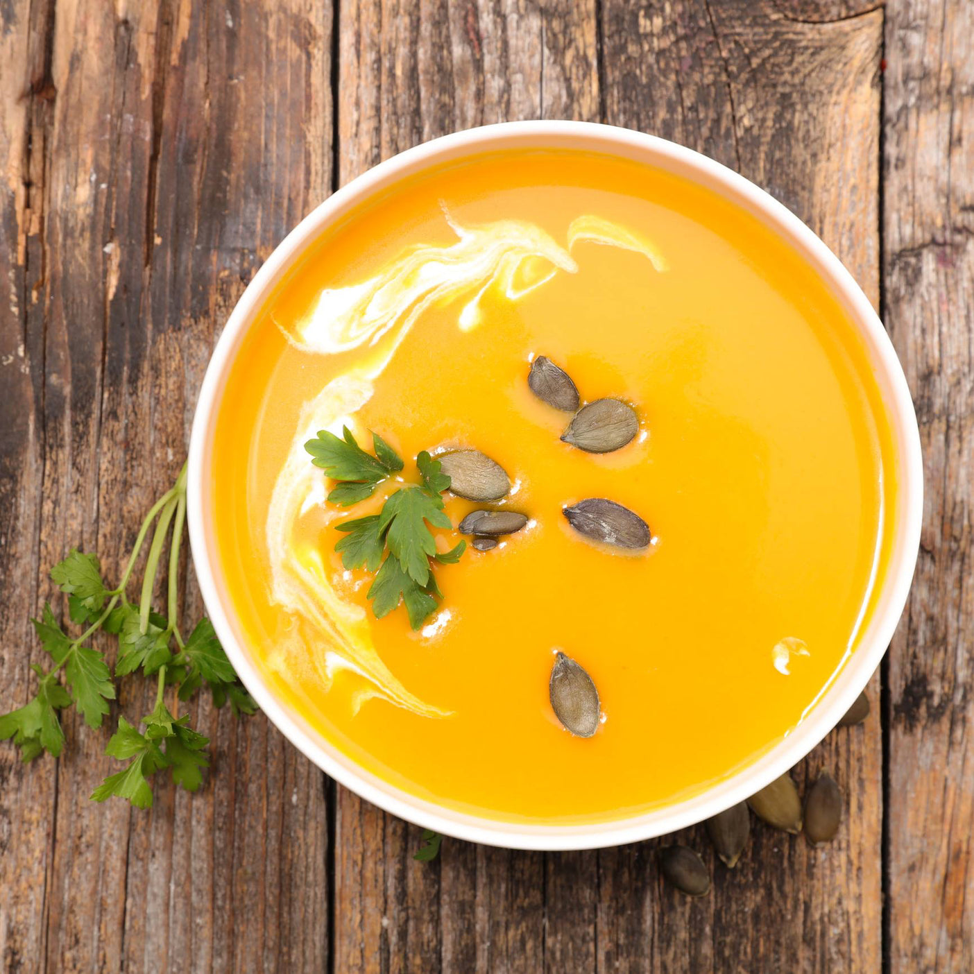 Recipe / Immune Boosting Carrot Squash Soup
