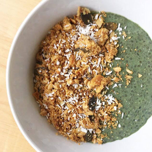Recipe / Spirulina Hemp Chia Pudding