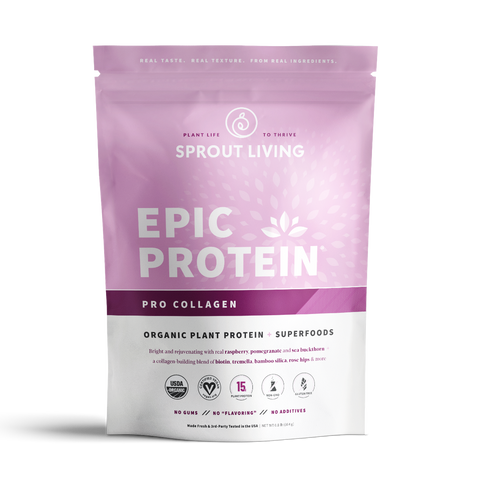 Sprout Living Organic Protein Powder - Vegan Pro Collagen