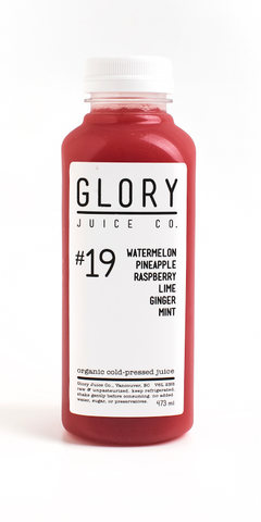 #19 Watermelon Pineapple Raspberry Lime Ginger Mint