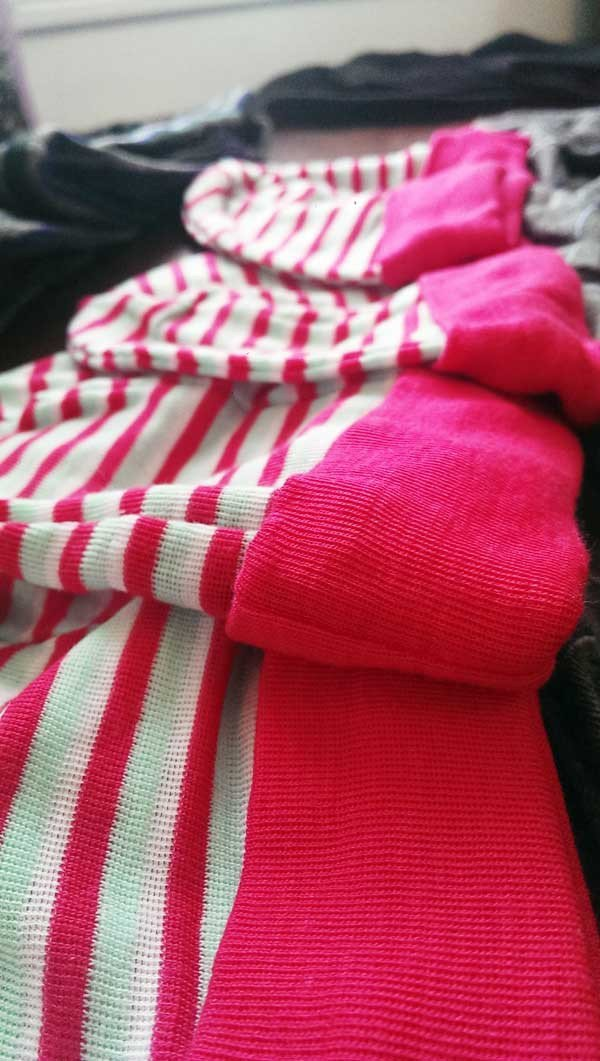 Candy Cane Beanies made from Polypropylene n/a