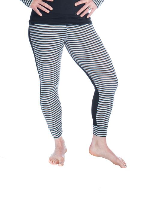 Night Shadow - Pants with Boot Top Style Stripes Gear
