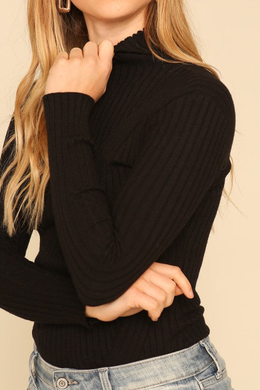 Long Sleeve Sweater Bodysuit