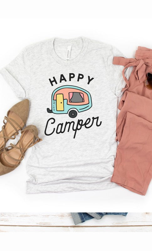 Happy Camper Graphic Tee