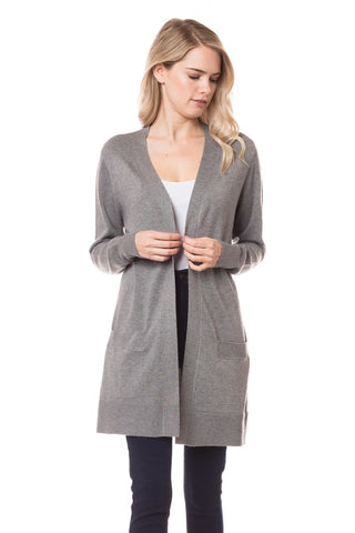 Basic Mid-Length Cardigan