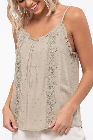 Lace Detail Cami