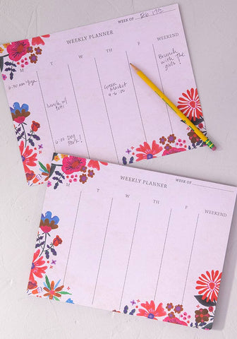 Natural Life Weekly Desk Planner