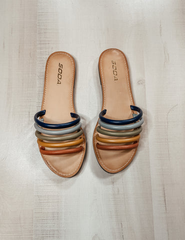 Dorcey Strappy Sandals