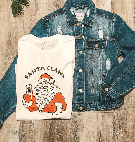 Santa Claws Graphic Tee