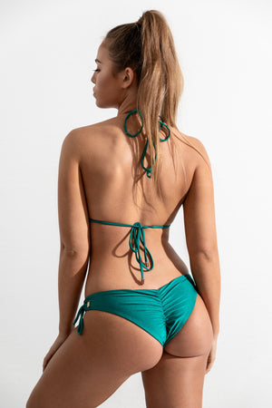 Emerald Bondi Top // Malibu Bottom