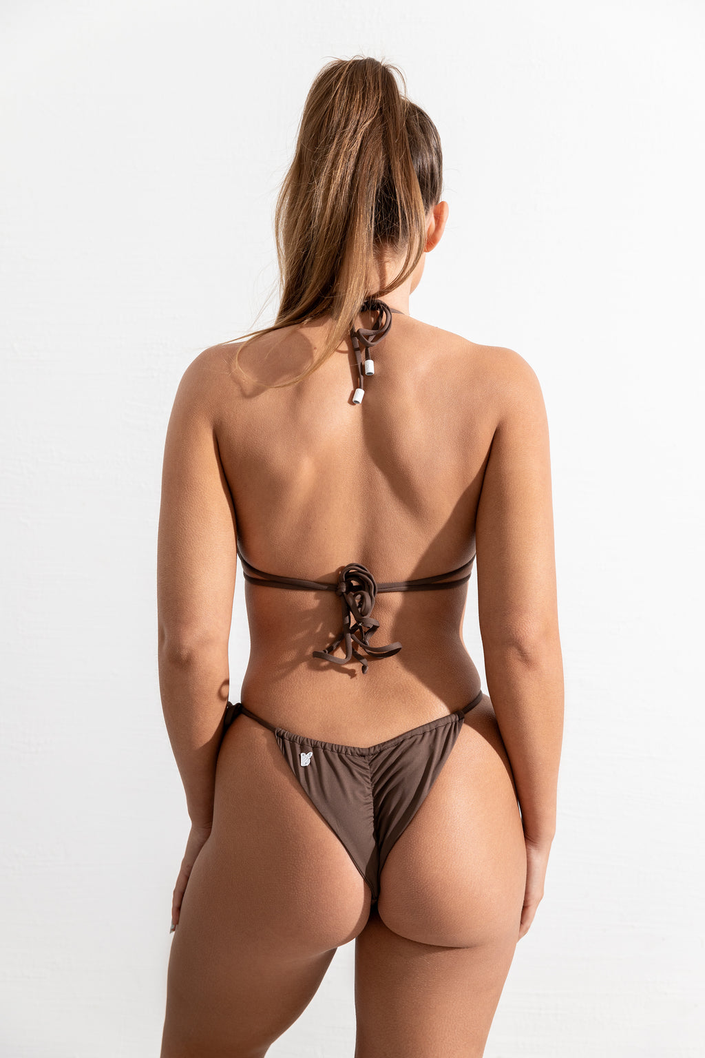 Mocha St Barths Top // St John Bottom