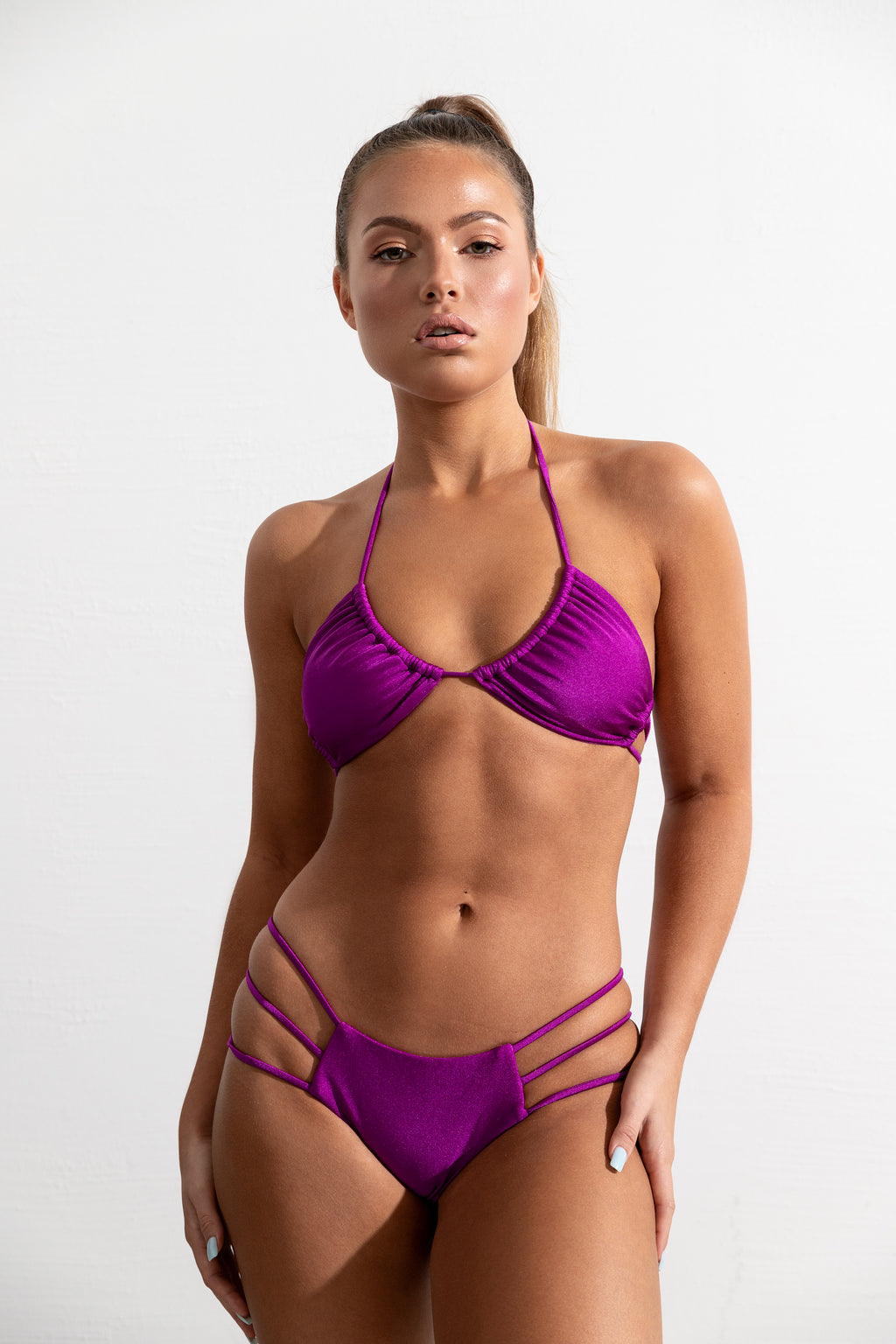 Fuchsia St Barths Top // Bottom Bay Bottom