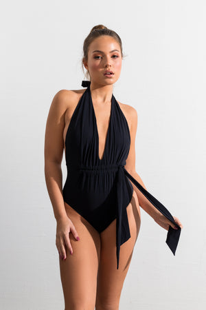 Black Exuma One Piece