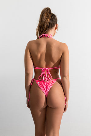 Pink Velvet St Barths Top // St John Bottom