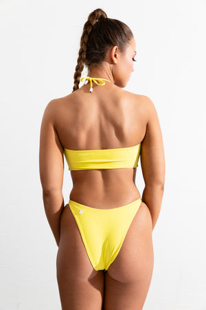 Lemon Yellow Cooper Top // Palermo Bottom