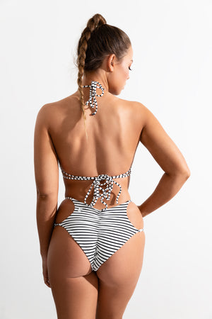 Stripe St Barths Top + Bimini Bottom