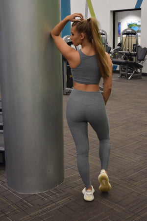 Grey Yoga Set