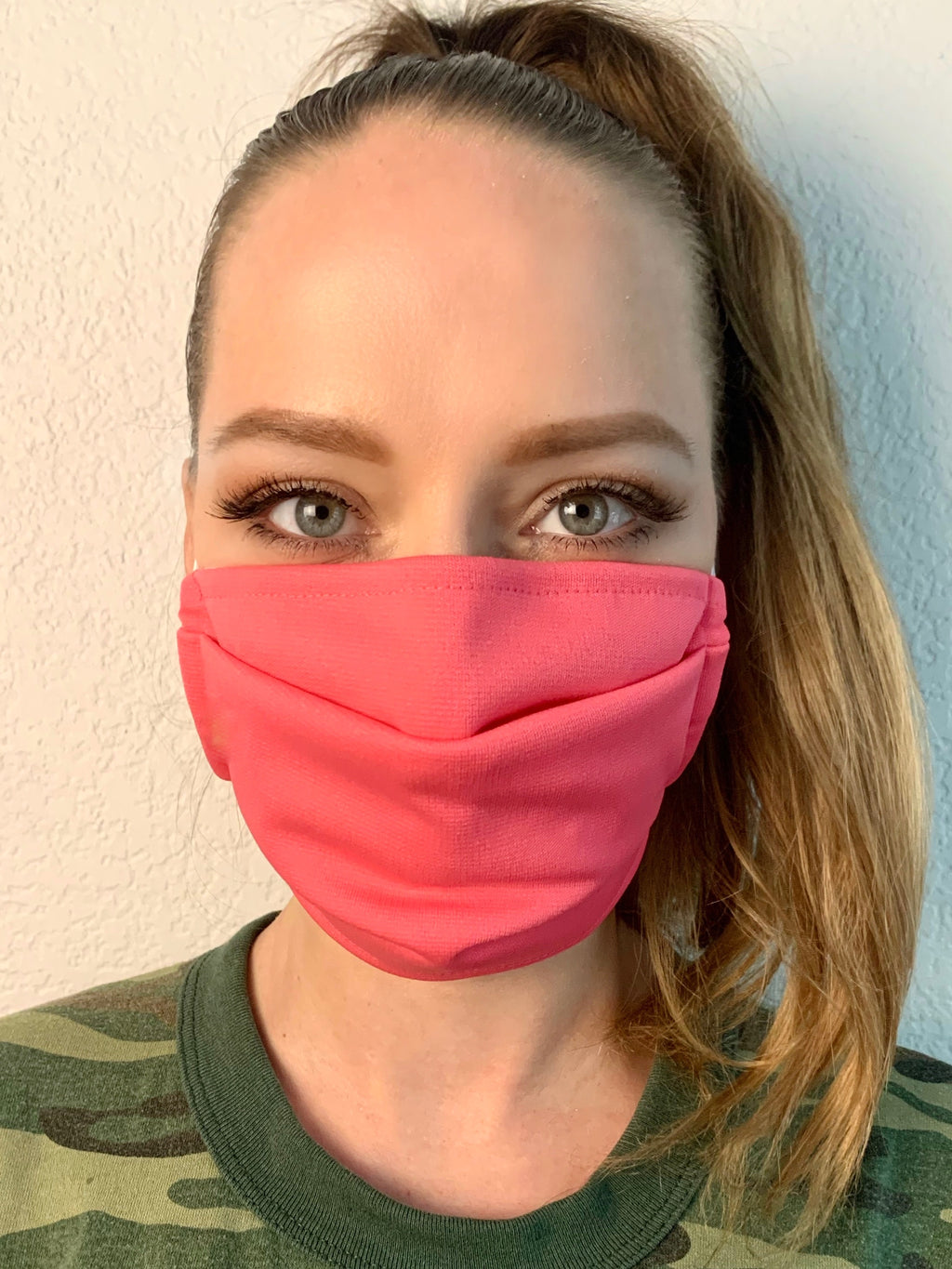 Mighty Pink Fabric Mask