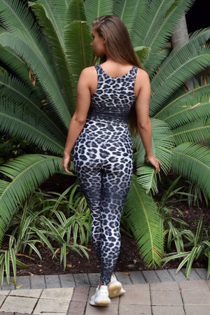 Leopard Yoga Set