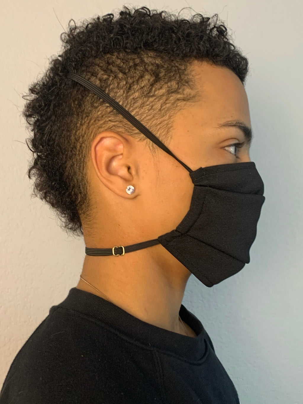 Mighty Black Fabric Mask