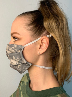 Mighty Camo Fabric Mask